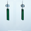 green shard earrings 0033