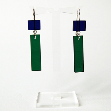 blue green construction earrings 20