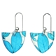 blue chyosia earrings