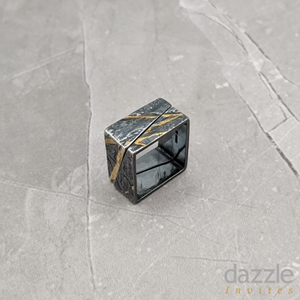 Neolith Ring Set Oxidised