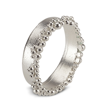 Froth Ring Contemporary Rings by contemporary jewellery designer