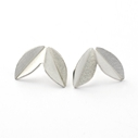 Silver Fold Earrings