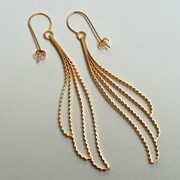 Gold 'Cloud' Earrings
