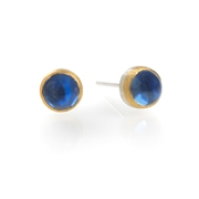 24ct Gold earrings with Sapphires