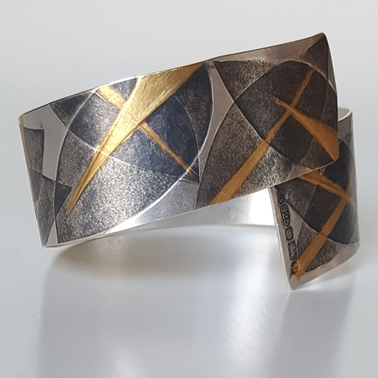 Layered Leaves Cuff