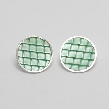Roof Enamel earrings