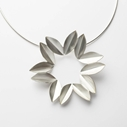 Silver Fold Necklace
