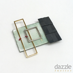 Roof and Window brooch