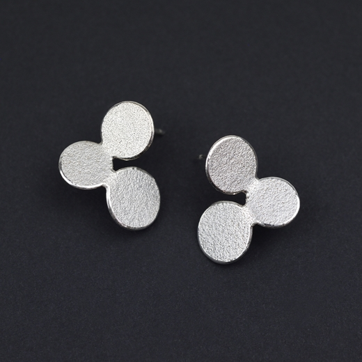3 circles earrings