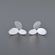 3 ovals earrings