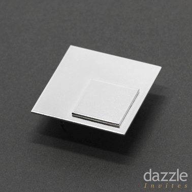 Square Square Module Lapel Pin