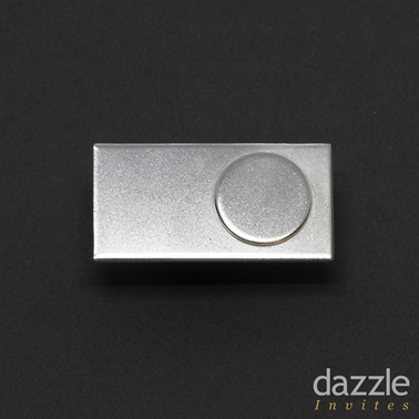 Rectangle Dot Module Lapel Pin