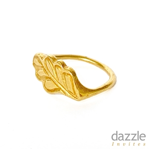 Laurel Signet Ring