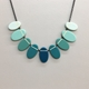 Ombré ovals necklace