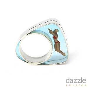 Swimmer Ring - side view