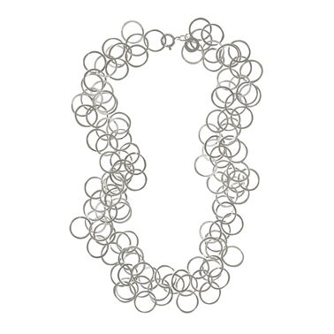 bay necklace silver