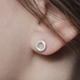 Arnot stud on ear
