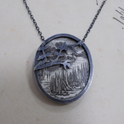 Across the RIver Pendant