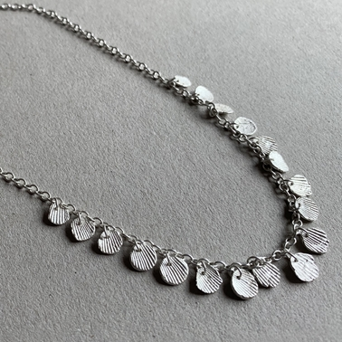 Imprint triple necklace