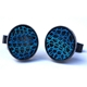 Aquarian Cufflinks face on