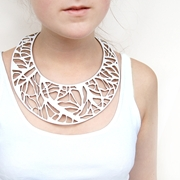 Arbo white necklace