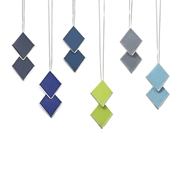 Assorted Diamond Shaped Pendants
