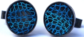 Aquarian Cufflinks by Suzanne Claire