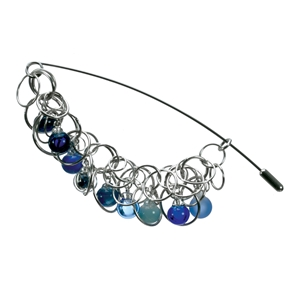 aventurine-blue-bubble-lamp-worked-glass-sterling-silver-nontuple-chain-pin-by-charlotte-verity