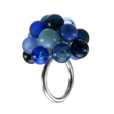 aventurine-blue-lamp-worked-glass-sterling-silver-large-bubble-ring-by-charlotte-verity