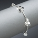 Blossom daisy chain bracelet, polished