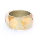 Gold Irregular Bangle