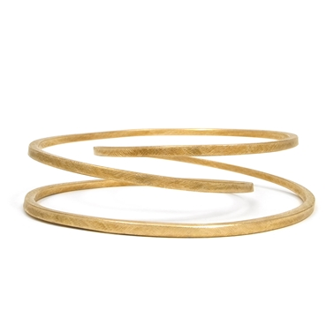 Twister Bangle - brass