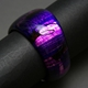 Large Irregular Bangle in Purple