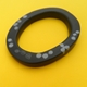 black oval bangle