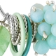 Berries Pendant with Amazonite and Aventurine DETAIL