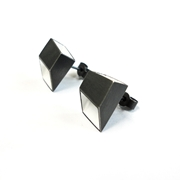 Black & White Tube Studs
