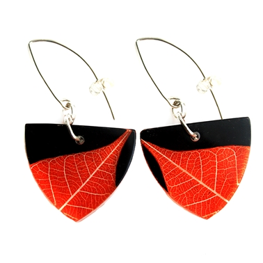 Ginger tri earrings