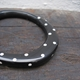 black spotty wangle bangle 2