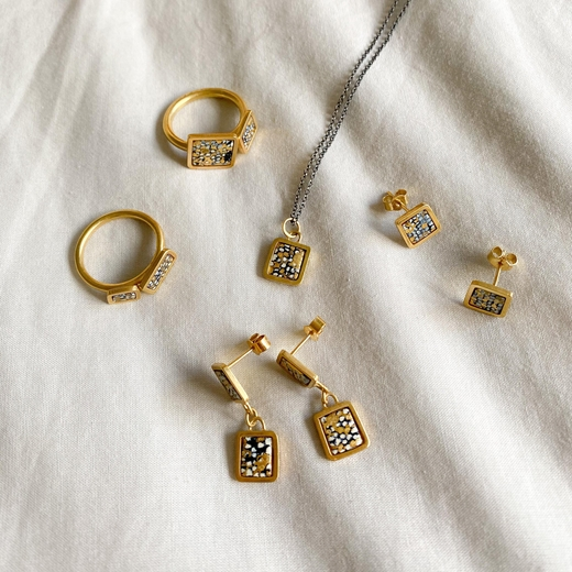 Gold plated collection