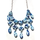 Blue Baroque Etruscan Necklace