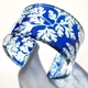 blue baroque 45 mm cuff