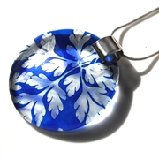 Blue Baroque pendant