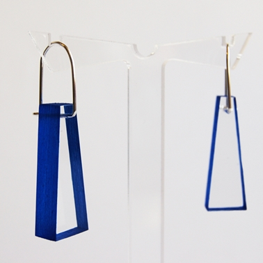 blue block earrings 02