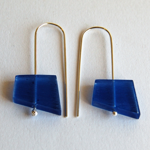 blue fragments earrings 3