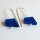 blue fragments earrings 2