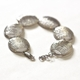 Silver Stripe Bracelet - Catch