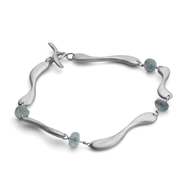 Bracelet with labradorite