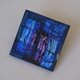 Azure Square Brooch