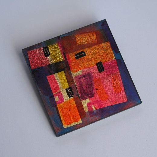 Matisse Square Brooch