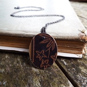 Forest Gold Pendant Front